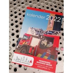 Kalender Brandweer Brugge 2022   ( de kalenders worden zo snel mogelijk verzonden )